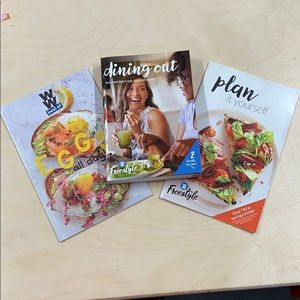 WW weight watchers Freestyle 2 books in one lot